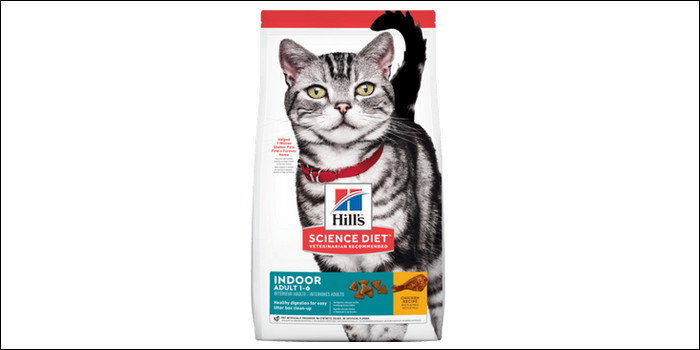 rekomendasi makanan kucing Hill's science diet feline indoor
